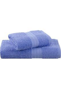 toalha azul